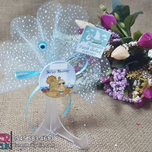 Baby Shower Magneti Mavi
