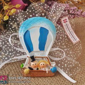 Uçan Balonda Gelin Damat Nikah Şekeri