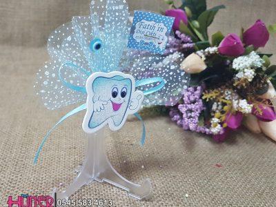 Diş Buğdayı Magneti Mavi