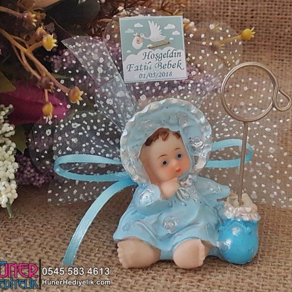 Bornozlu Notluk Erkek Bebek Şekeri Biblo