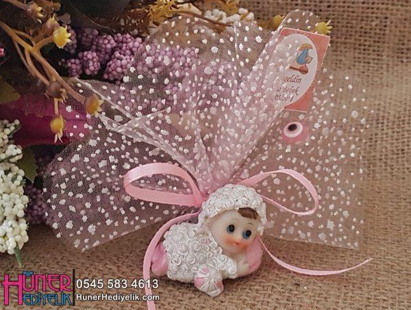 Kuzu Kostümlü Bebek Biblosu