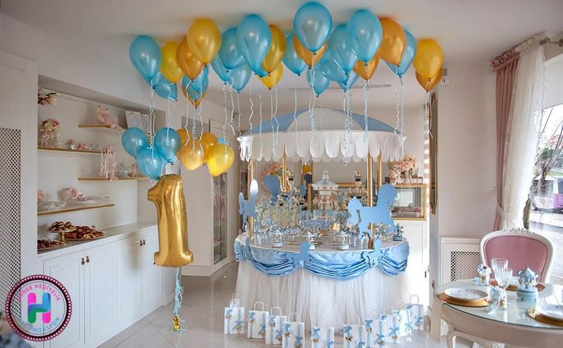 Doğum Günü İçin Balon Süsleme