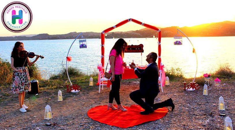 Evlilik Teklifi Organizasyonu Sahil