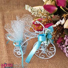 Tel Bisikletli Mavi Erkek Bebek Şekeri