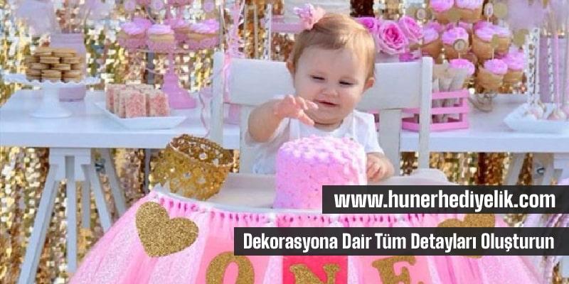 Doğum Günü Dekorasyon Fikirleri