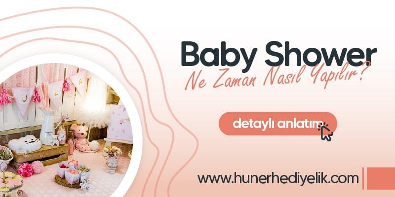 Baby Shower Ne Zaman ve Nasıl Yapılır?