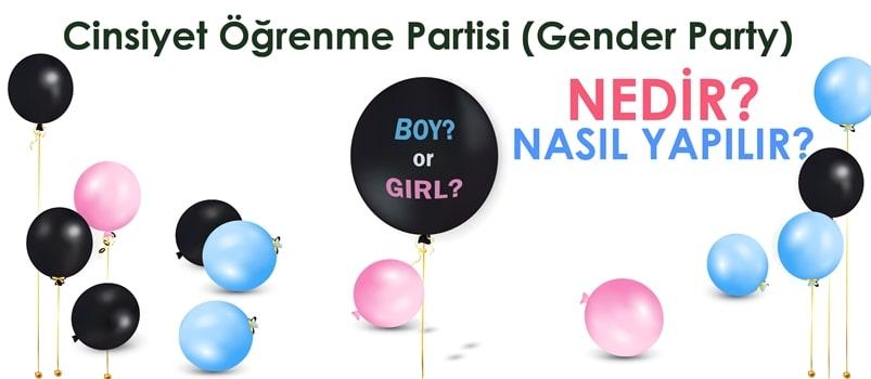 Cinsiyet Öğrenme Partisi (Gender Party) Nedir? Nasıl Yapılır?